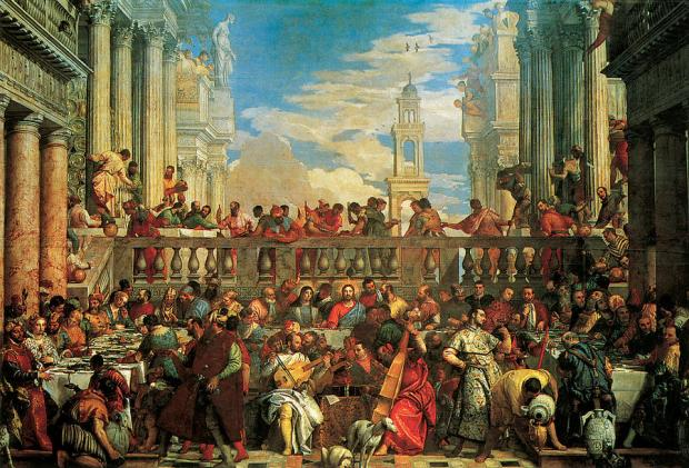 The Wedding Feast at Cana by Paolo Veronese