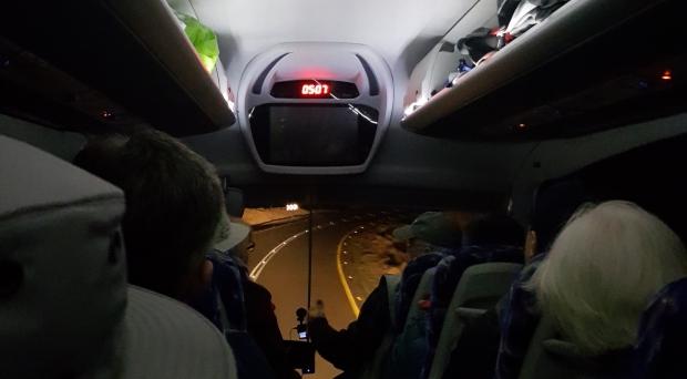 Driving to Masada Israel priestwife
